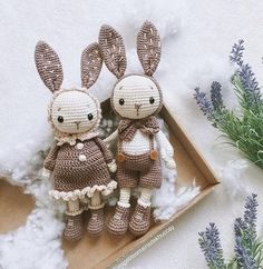 Mesmerizing Crochet an Amigurumi Rabbit Ideas. Lovely Crochet an Amigurumi Rabbit Ideas. Crochet Animal Patterns, Crochet Patterns Amigurumi, Stuffed Animal Patterns, Amigurumi Doll, Crochet Dolls, Crochet Doll Clothes, Bunny Crochet, Knitted Bunnies, Cute Crochet