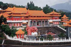 WenWu Temple at Sun Moon Lake
