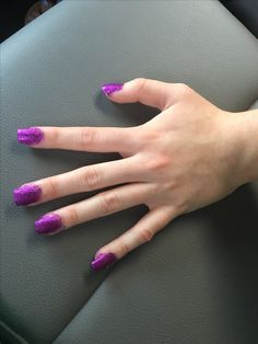 My friends nails I did