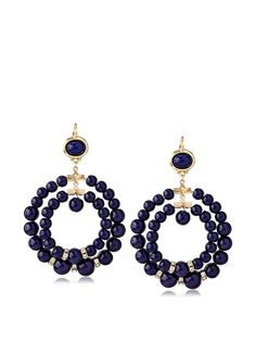 Kenneth Jay Lane Navy Double Hoop Earrings, http://www.myhabit.com/redirect/ref=qd_sw_dp_pi_li?url=http%3A%2F%2Fwww.myhabit.com%2Fdp%2FB00K2W6NZW
