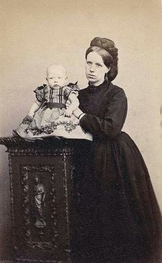 Scottish mourner 1870