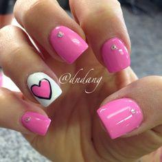 VALENTINE by dndang #nail #nails #nailart