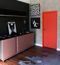 """Assista o sétimo episódio da série """"PROJETO CRIATIVO""""! A Imprimax forneceu espaço e materiais para que arquitetos e designers de interiores esbanjassem toda a sua criatividade, mostrando as possibilidades da utilização de vinis autoadesivos na decoração de ambientes. Confira agora o resultado incrível e conceitual que a design de interiores STELLA LINGUANOTTI criou. Buffet, Cabinet, Storage, Designers, Furniture, Home Decor, Vinyls, Architects, Creativity"""