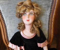 Poupée Ancienne Collection ART Déco Salon Boudoir 1920 1930 Vintage BED Dool | eBay