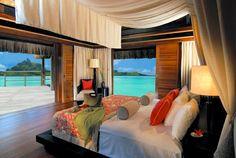 St Regis Bora Bora Deluxe Over Water Villa