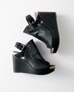 Eileen Fisher Seal Wedges