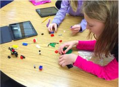 Ideas for tech-based maker spaces. My kids love Legos and they'd go nuts for those centers!