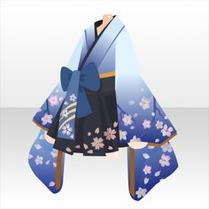 Character Costumes, Character Outfits, Anime Outfits, Cool Outfits, Pelo Anime, Cute Anime Chibi, Cute Anime Character, Kimono Design, Anime Dress