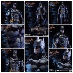 A Prime1Studio, empresa especialista na produção de estátuas de Transformers, acaba de anunciar a sua primeira figura de Batman, que será alusiva ao novo game do vigilante noturno  Arkham Knight.  A estátua será na escala 1/3, que dá por volta de 93 cm, sendo que o item adicional para ela será a possibilidade de trocar a mão dela por outras com as aramas que o cavaleiro das trevas possui.  A data de lançamento não foi divulgado, mas o valor da peça será $ 899USD  #Prime1Studio #Batman…