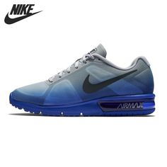 7f075cb070a NIKE AIR MAX SEQUENT Running Men Shoes Low Top Sneakers