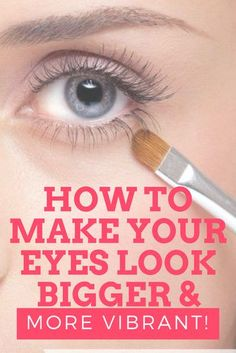 Are you looking for ways to make your eyes look bigger and more vibrant? Here are a few tips and tricks that will help open your eyes up.