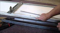 Diy How To Repair Or Replace A Single Garage Door Panel Damaged Gara