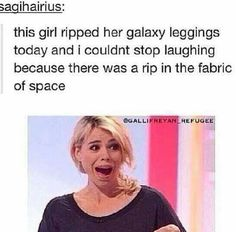 No offense to the girl but HAHAHA !  #DoctorWho