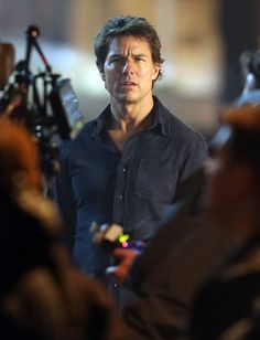 Tom Cruise on the set of The Mummy with Annabelle Wallis Lainey Gossip Entertainment Update