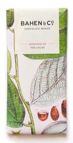 Bahen & Co. Chocolate Bar Madagascar 70% cacao. Tk