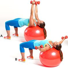 You don't need to splurge on a gym membership if you have some basic tools. Try this move: chest flies.