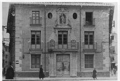Colegio de San Leandro Murcia, San Leandro, Spain, Antiques, Plaza, Painting, Texts, Mail Boxes, 19th Century