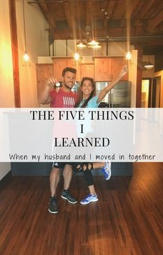 Five Things I Learned When My Husband & I Moved In Together. There are things you don't know before you and your spouse move in together! Read this to find out exactly what they are! Love Articles, Moving In Together, Before Marriage, Relationship Advice, Relationships, My Husband, Moving Out, Things To Know, Wedding Tips