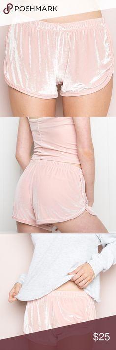 Brandy Melville Pastel Baby Pink Lisette Shorts ✨ Bundle for Savings ✨ Brandy Melville Shorts