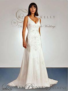 Jasmine dress   Disney Princess Wedding Dresses by Kirstie Kelly ...