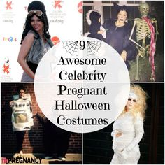 When you feel like you're carrying a jack-o-lantern up front, it's hard to imagine making an appearance as anything other than Linus's Great Pumpkin at your friend's annual Halloween bash. But from actress Liv Tyler's funny pun to singer Jessica Simpson's traditional horror classic, get inspired by these 9 celebs' awesome pregnant Halloween costumes.