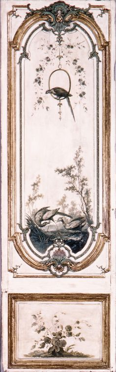 Door panel. Manner of Jean-Baptiste Oudry (French, Paris 1686–1755 Beauvais)