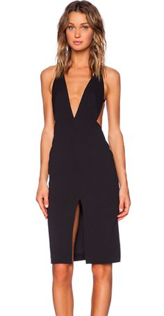 Backless dress available at revolveclothing.com