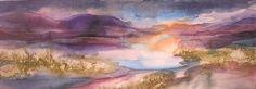 Looking west, Scotland, Landscape, M Y Auld, SAA Professional Members' Galleries