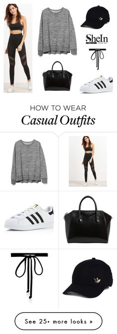 """""""Casual Street Style #5"""" by daria-alexandra-711 on Polyvore featuring adidas, Gap, Givenchy, Joomi Lim, casualoutfit and fitness"""