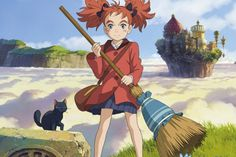 Kids and Studio Ghibli fans will enjoy this magical animation, exploring themes of self-acceptance, discovery, courage and friendship, through a wondrous and colourful tale. Animation Art, Ghibli, Animated Movies, Cartoon, Japanese Animation, Fairy Tales, Witch, Animation, Ghibli Movies