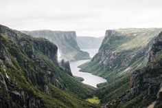 Western Brook Pond / Gros Morne National Park, Newfoundland.