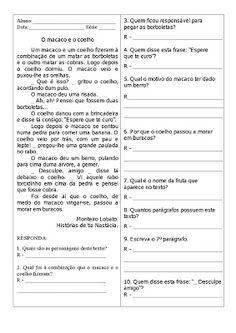 VARAL DE ATIVIDADES: Textos para ler e localizar informações (10)                                                                                                                                                     Mais
