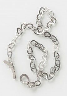 Jill Platner Lynx Chain Necklace in Sterling Silver