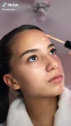 Casual Makeup, Edgy Makeup, Contour Makeup, Skin Makeup, Makeup Order, Korean Eye Makeup, Makeup Looks Tutorial, Makeup Makeover, Aesthetic Makeup