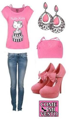 My HELLO KITTY outfit!