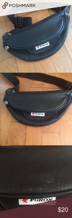 878481568c72 vintage porox leather fanny waist bag 🔥 Awesome bag Few flaws but in good  condition Perfect for wear travel 🔥🔥🔥 Bags