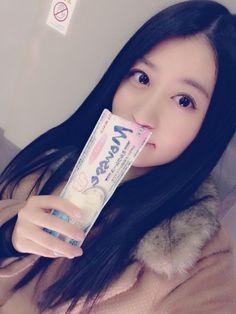 "Kei Jonishi ""からの出発の時間までアイス\(^o^)/  寒いの嫌いなくせに、外でアイス\(^o^)/"""