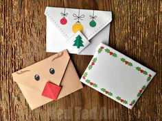 printable-christmas-origami-envelopes - Red Ted Art's Blog