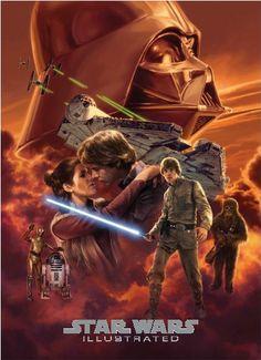 Risultati immagini per star wars story illustrated