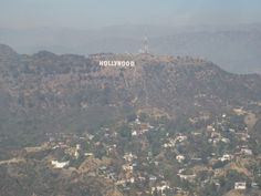 The Hollywood Sign From The Air!