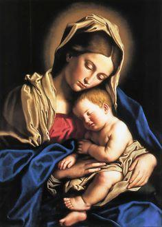 Orazio Lomi Gentileschi (Italian artist, 1563–1639) Madonna and Child