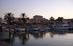 Latchi fishing port in Paphos area