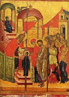 Entrance of Theotokos into the Temple icon (1)