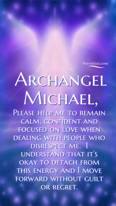 """It's normal to feel like we want to """"fix"""" things or prove ourselves in some way. But Archangel Michael's advice in situations like this is wonderfully simple. Ask yourself, """"am I happy in this energy?"""" If the answer is no, why engage it further? Numerology Chart, Numerology Numbers, Astrology Numerology, Archangel Prayers, Angel Guide, Angel Quotes, Prayers For Healing, Inspirational Prayers, Faith Prayer"""