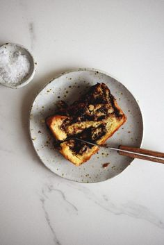 chocolate babka no knead chocolate babka sprinkle with salt pinterest ...