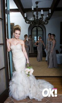Hilary Duff And Mike Comrie S Wedding Arabia Weddings