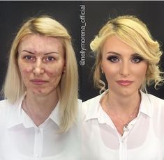 Omg!! totally amazing, what makeup can do.