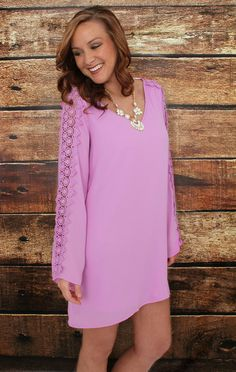 This Lilac is THE color for Spring! Get this and other cute styles at KashCollection.Com!