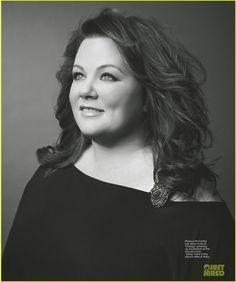melissa mccarthy | Melissa McCarthy Covers 'Michigan Avenue' Magazine Winter 2013 ...
