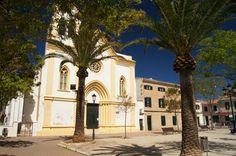 Church Sant Climent Minorca.